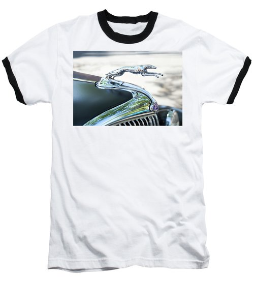 Baseball T-Shirt featuring the photograph Hood Ornament Ford by Theresa Tahara