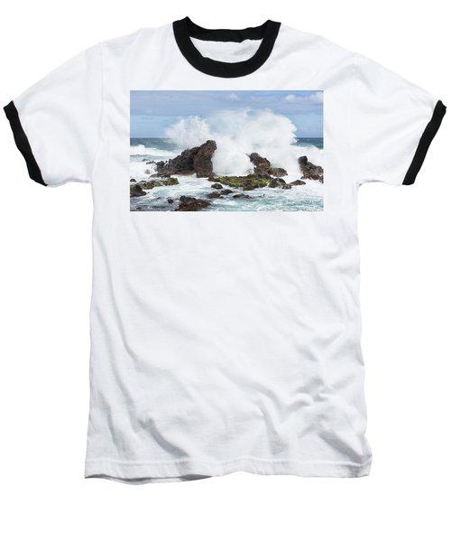 Hookipa Point Baseball T-Shirt