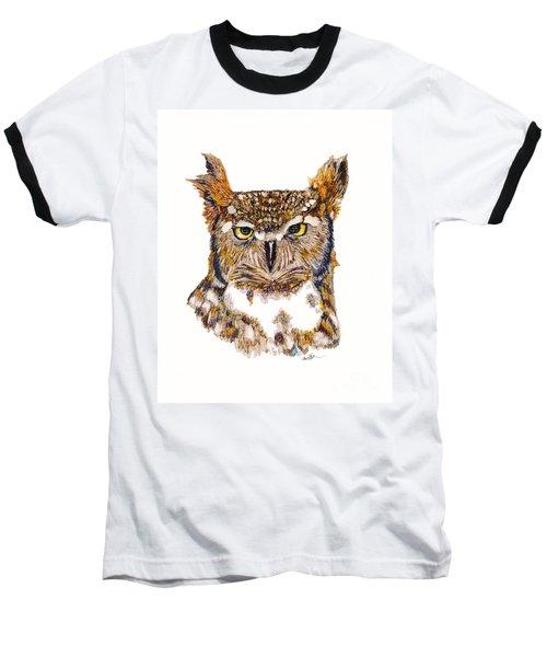 Hoot Baseball T-Shirt
