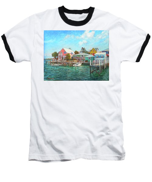 Hope Town By The Sea Baseball T-Shirt