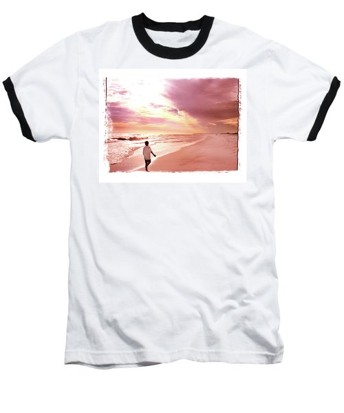 Hope's Horizon Baseball T-Shirt by Marie Hicks