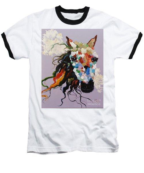 Puzzle Horse Head  Baseball T-Shirt