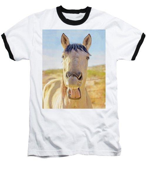 Horse Talk #2  Baseball T-Shirt