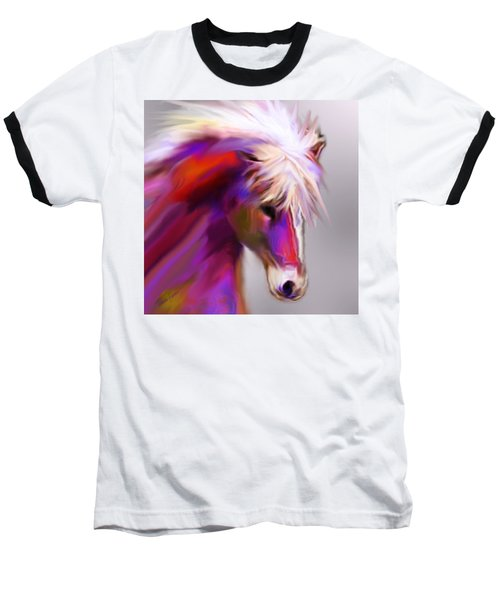 Horse True Colors Baseball T-Shirt