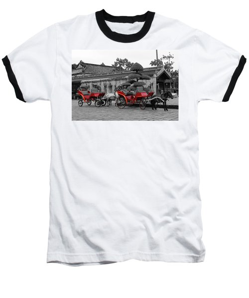 Horses And Carriages Baseball T-Shirt