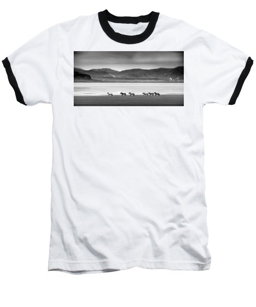 Horses, Iceland Baseball T-Shirt