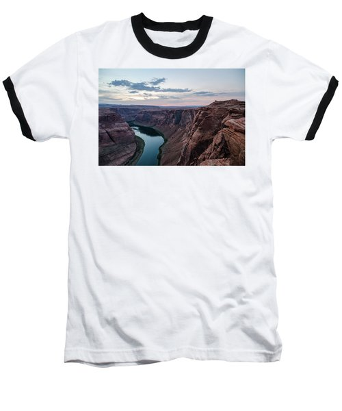 Baseball T-Shirt featuring the photograph Horseshoe Bend No. 2 by Margaret Pitcher