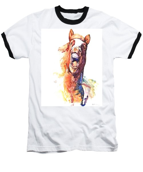 Horsing Around Baseball T-Shirt