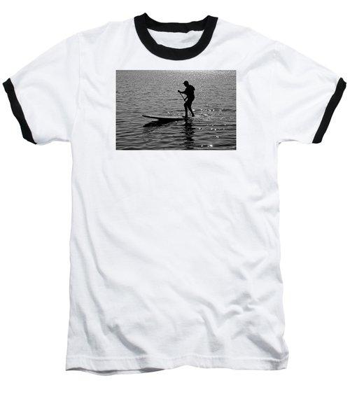 Hot Moves On A Sup Baseball T-Shirt