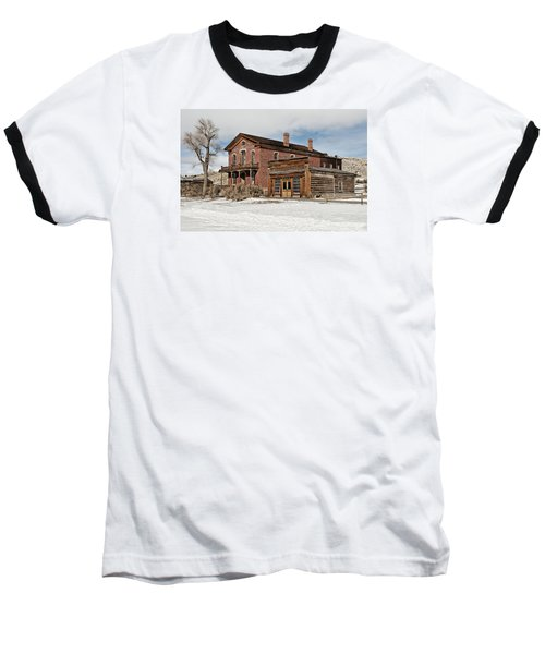 Hotel Meade And Saloon Baseball T-Shirt