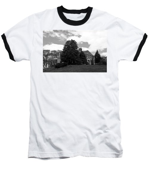 House On The Hill Baseball T-Shirt by Jose Rojas