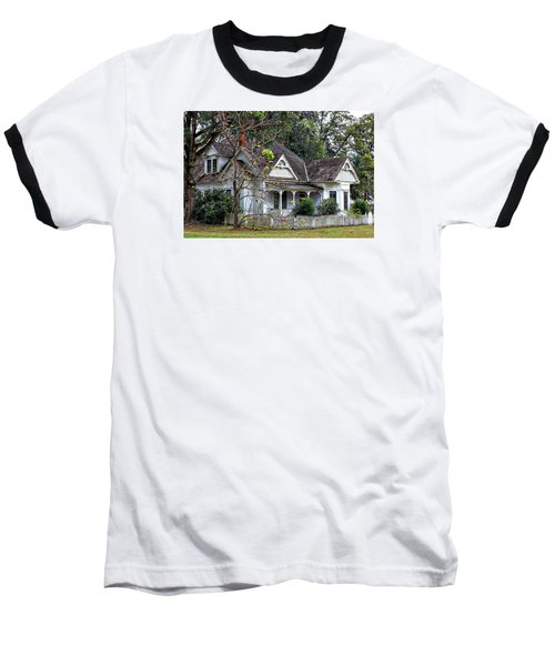 House With A Picket Fence Baseball T-Shirt