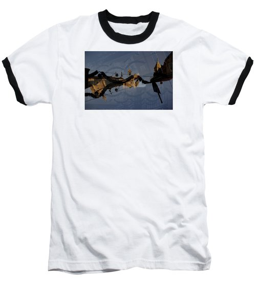 Baseball T-Shirt featuring the photograph How Is It That You Forget? by Danica Radman