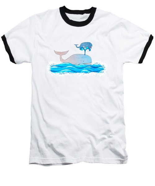 How Whales Have Fun Baseball T-Shirt