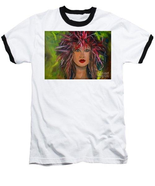 Hula Haku Lei Jenny Lee Discount Baseball T-Shirt