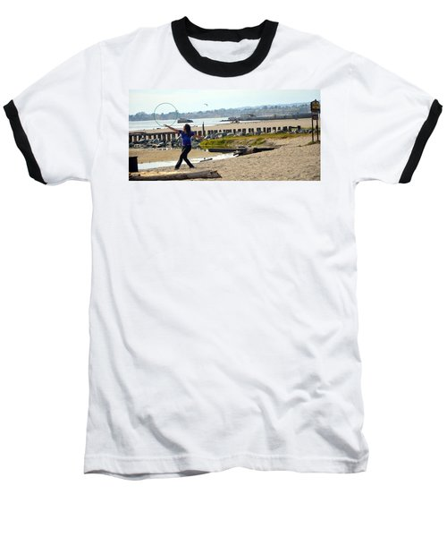Baseball T-Shirt featuring the photograph Hula Hoop Dance by Antonia Citrino