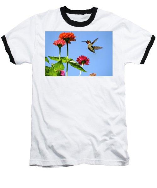 Hummingbird Happiness Baseball T-Shirt