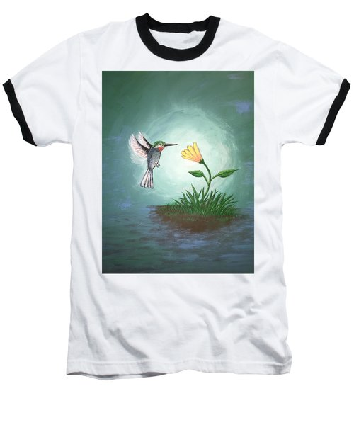 Hummingbird II Baseball T-Shirt