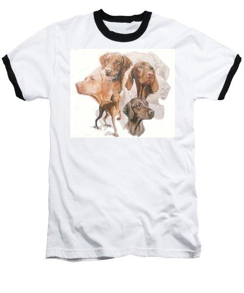 Hungarian Vizsla Medley Baseball T-Shirt