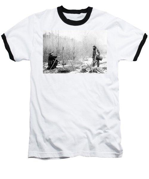 Hunting Camp Winter 1887-88 -- South Dakota Baseball T-Shirt