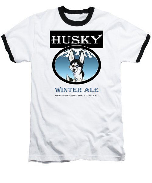 Husky Winter Ale Baseball T-Shirt