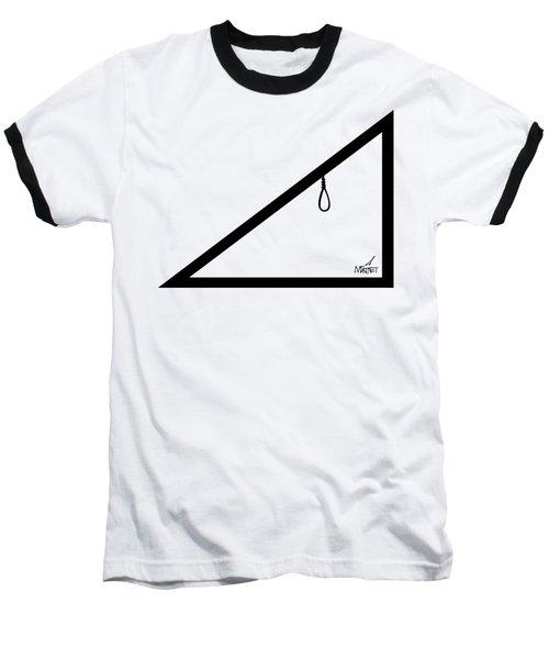 Hypotenoose Black Baseball T-Shirt