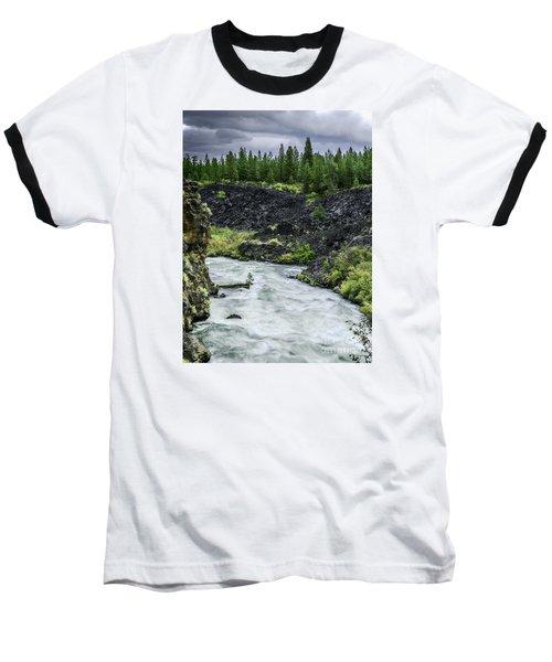 I Am River Hear Me Roar Baseball T-Shirt