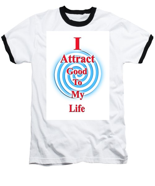 I Attract Red White Blue Baseball T-Shirt