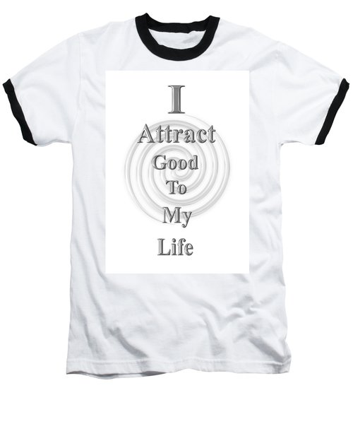 I Attract Silver Baseball T-Shirt