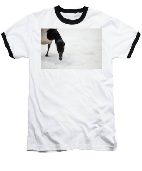 Baseball T-Shirt featuring the photograph I Do See You by Karol Livote