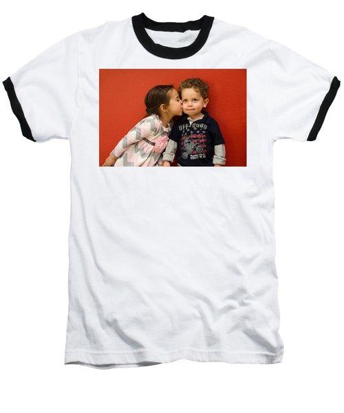 I Give You A Kiss Baseball T-Shirt