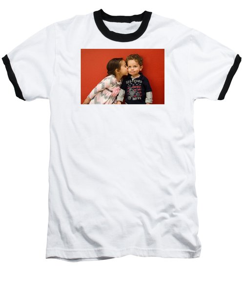 I Give You A Kiss Baseball T-Shirt
