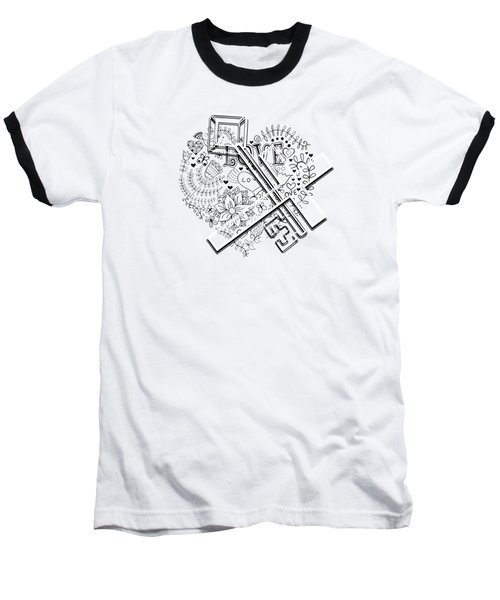 I Give You The Key Of My Heart Baseball T-Shirt