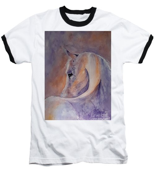 I Hear You - Painting Baseball T-Shirt by Veronica Rickard