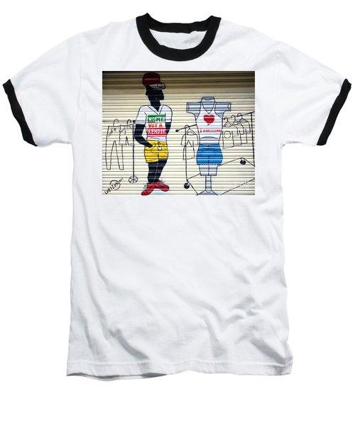 I Heart Barcelona Baseball T-Shirt