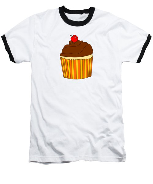 I Love Cupcakes - Food Art  Baseball T-Shirt