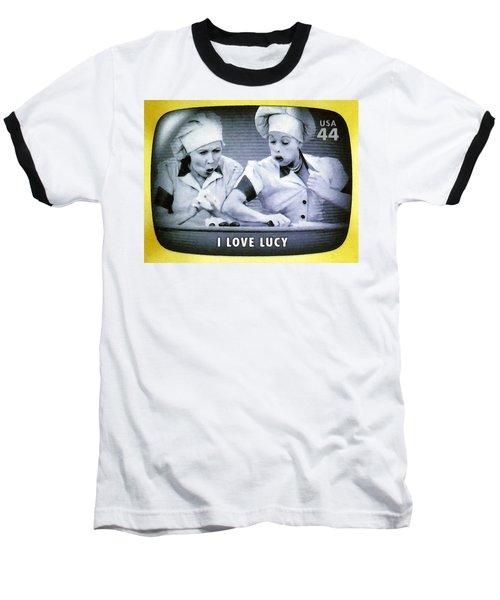 I Love Lucy Baseball T-Shirt