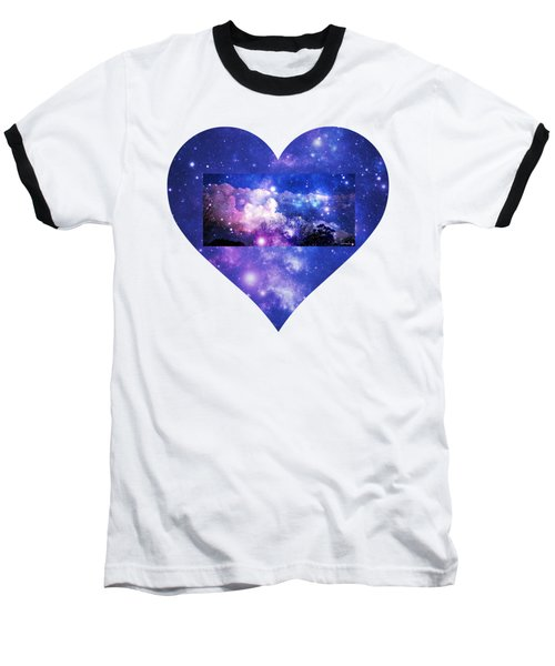I Love The Night Sky Baseball T-Shirt
