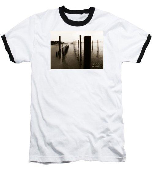 I Miss You  Baseball T-Shirt by Christy Ricafrente