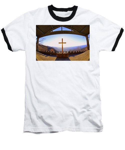 I Will Lift My Eyes To The Hills Psalm 121 1 Baseball T-Shirt