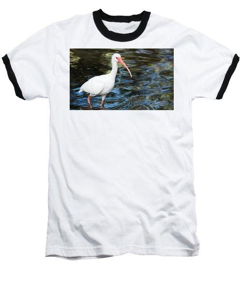 Ibis In The Swamp Baseball T-Shirt