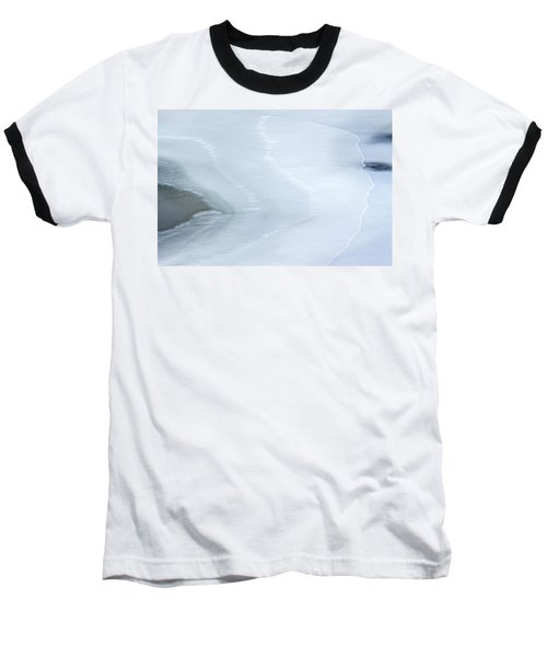 Ice Abstract 3 Baseball T-Shirt