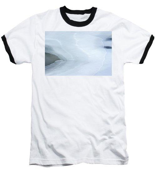 Ice Abstract 3 Baseball T-Shirt by Hitendra SINKAR