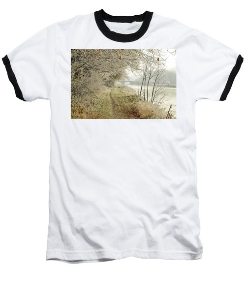 Ice And Mist Baseball T-Shirt