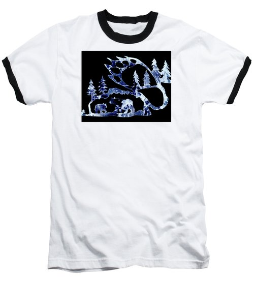 Baseball T-Shirt featuring the photograph Ice Bears 1 by Larry Campbell