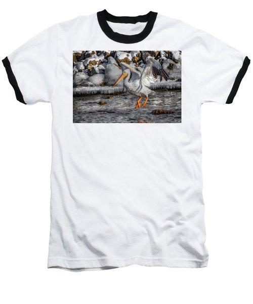 Ice Jump Baseball T-Shirt