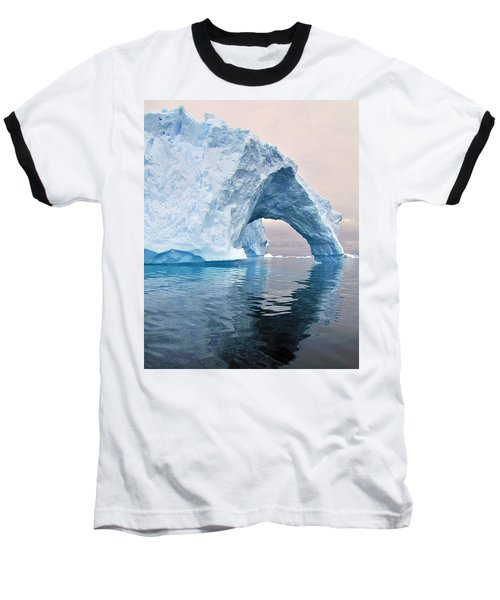 Iceberg Alley Baseball T-Shirt by Tony Beck