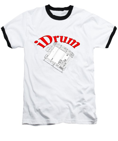 iDrum Baseball T-Shirt by M K  Miller