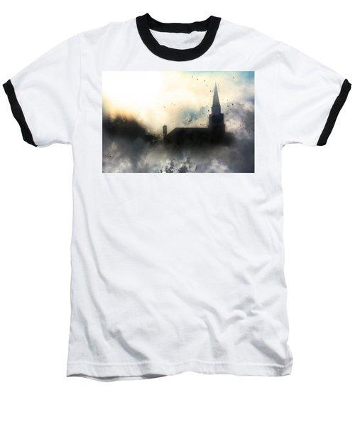 I'll Fly Away Baseball T-Shirt by Gray  Artus
