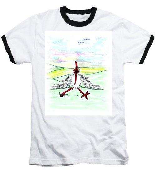 I'll Never Fly Again Baseball T-Shirt